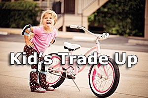 kids tradeup pic button